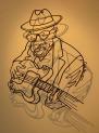 John Lee Hooker, Steel Rod,